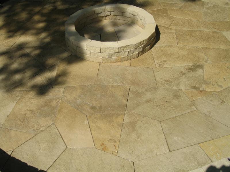 stone pavement landscape