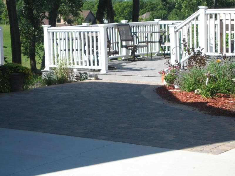 back porch and patio landscaping
